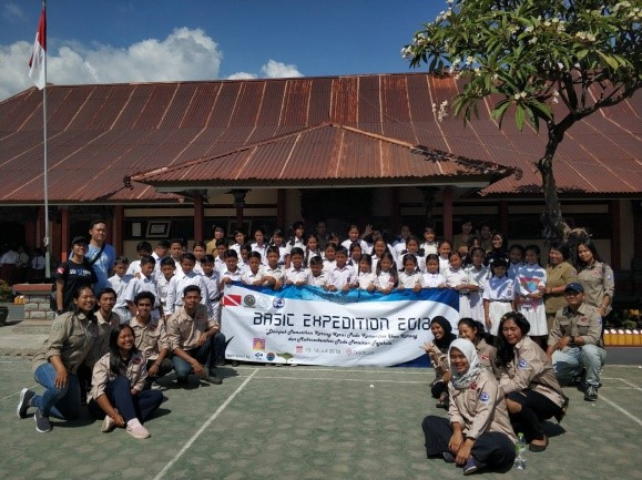 EKSPEDISI BARUNA SCIENTIFIC DIVING CLUB  2018